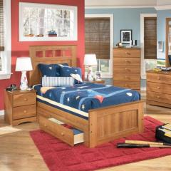 Benjamin Twin Panel Bed with Storage