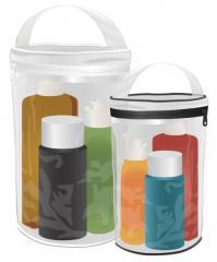 Clear Barrel Bags H8