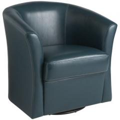 Isaac Swivel Chair - Teal