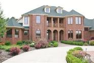 Immaculate 5 acre - all brick - custom built home