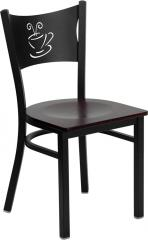 Back Metal Restaurant Chair