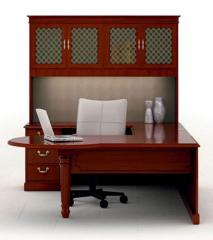 Office desk and cabinet suite