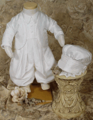Clothing and accessories for babies christening