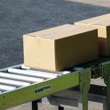 Titan Ind. Carton Flat 15in Roller Conveyor, 12in