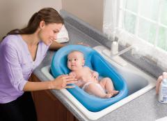 Cushy сradler™ newborn bath