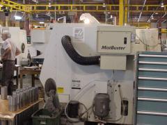 Mist buster haas machine tool