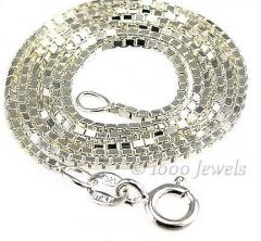 1.0mm Italian Venetian Box Chain