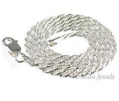 1.5mm Italian Triple Rope Chain