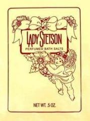 Lady Stetson By Coty Perfumed Bath Salts 1/2 oz