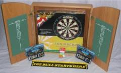Dartboard & Cabinet - Complete Package