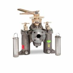 Model 72F and 72FH series duplex strainers