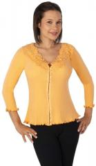 Waffle Hook and Eye with Lace Collar Tops