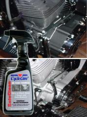 Silver & Black Motor Cleaner - SafeClean -
