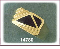 14K Gold Onyx Ring