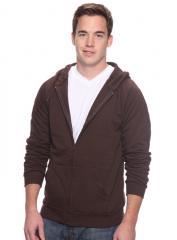 Organic Full Zip Hooded Sweatshirt