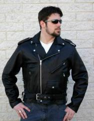 Deluxe Series - Classic Style Leather Jacket