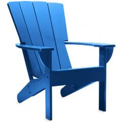 Fan Back Adirondack Chair Blue Grotto