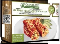 Low Fat Garden Vegetable Enchilada