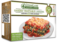Low Fat Garden Vegetable Lasagna