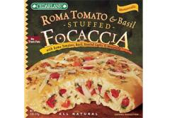 Roma Tomato & Basil Stuffed Focaccia