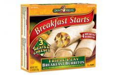 DON MIGUEL® Triple Play Breakfast Burritos