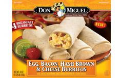 DON MIGUEL® Egg, Bacon, Hash Brown &