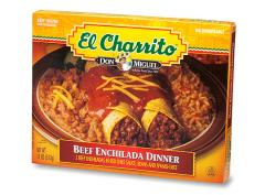 EL CHARRITO® Beef Enchilada Dinner — 11oz.