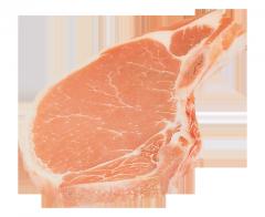 Bone-in pork