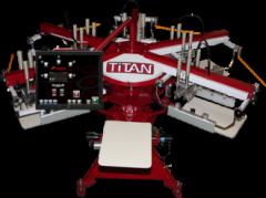 Titan: Entry-Level Screen Printing Machine