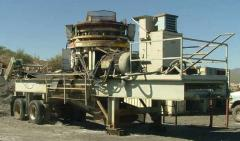 1999 Portable Cedarapids MVP380 Cone Crusher Plant