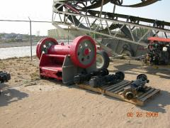 New Gator PEX 10x47 Jaw Crusher, Bare Unit