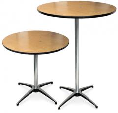 Plywood Pedestal Tables, ProRent™