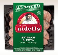 Spinach & Feta sausage
