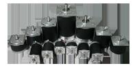 Standard (Round) Stepper Motors