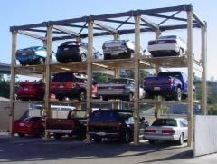 Triple High Car Stacker