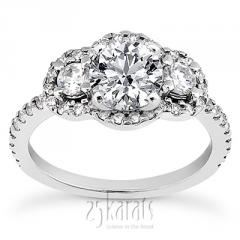 0.60 ct. Diamond Engagement Ring