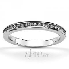 Round Cut Prong Set Diamond Bridal Ring