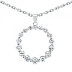 0.75 CT Diamond Pendant