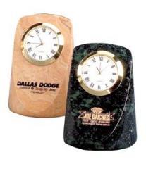 Marble Rectangular Desk Clock