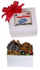 Window Box w/ Logo Message Cookie