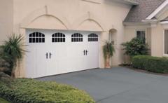 Premium Carriage House - Garage doors
