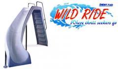 Wild Ride Pool Inground Slide
