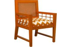 Geoff Lattice Arm Chair