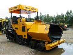 Asphalting machines