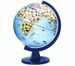 Illuminated Light-Up Globe