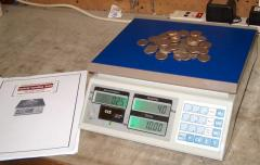 Digital Coin Counting Scale