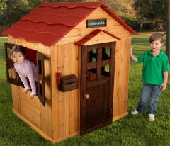 Cottage Clubhouse - Wooden Playhouse for Outdoor