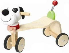 Doggie Ben Wooden Ride-On Toy for Kids