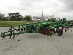 Used cultivators and ground processing devices