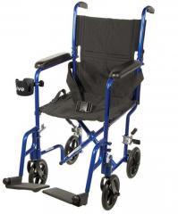 Economy Aluminum Transport Chair ATC17